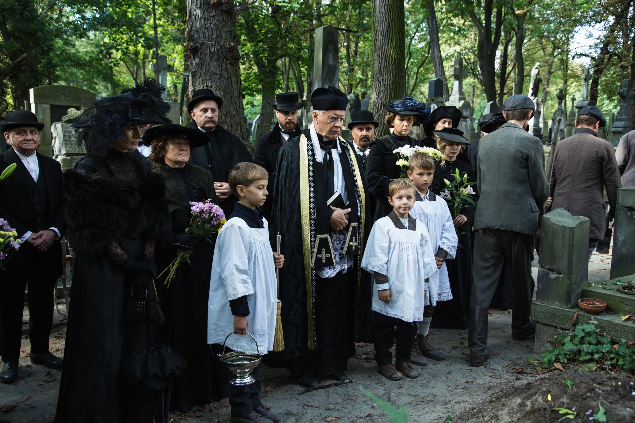 Magdalena Cielecka - Konstancja, Paweł Małaszyński - Jan, Wojciech Duryasz - Ksiądz